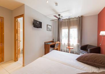 Comfort Room of the Hotel Castellarnau