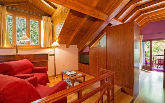 Habitación Junior Suite del Hotel Castellarnau