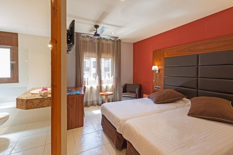 Habitació Confort de l'Hotel Castellarnau