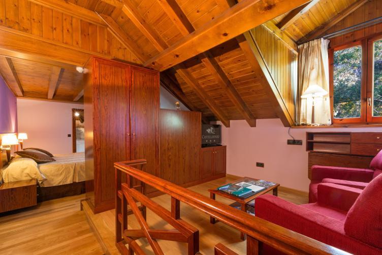 Junior Suite Room of the Hotel Castellarnau