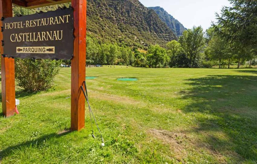 Minigolf y campo de práctica de golf